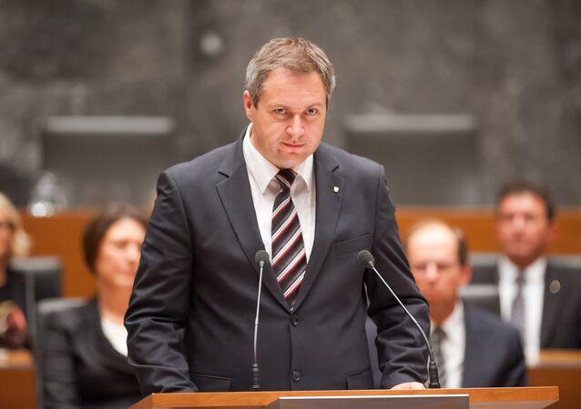 Dejan Zidan, Slovenia's Minister of Agriculture. (File)