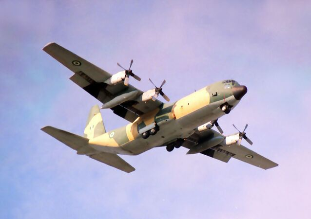 Nigerian Air Force C-130 (File)