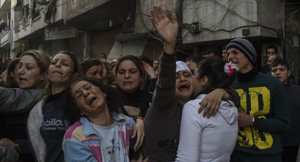 Terror attack in Homs