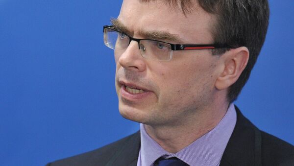 Estonian Foreign Minister Sven Mikser. (File) - Sputnik International