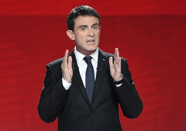 Former Prime Minister Manuel Valls.
