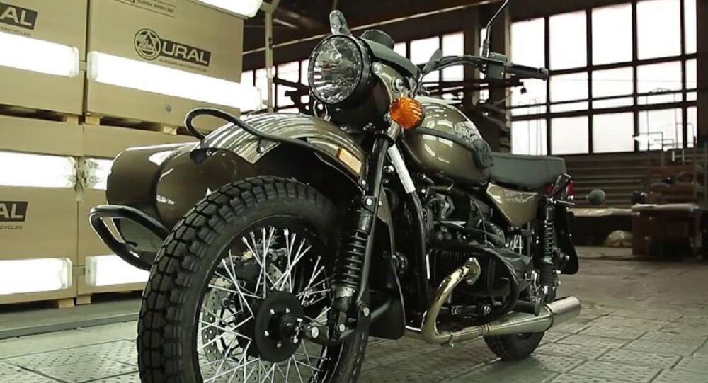 Ural Ambassador motorcycle