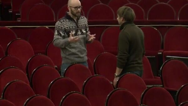 British director and actor Leon Kane - Sputnik International