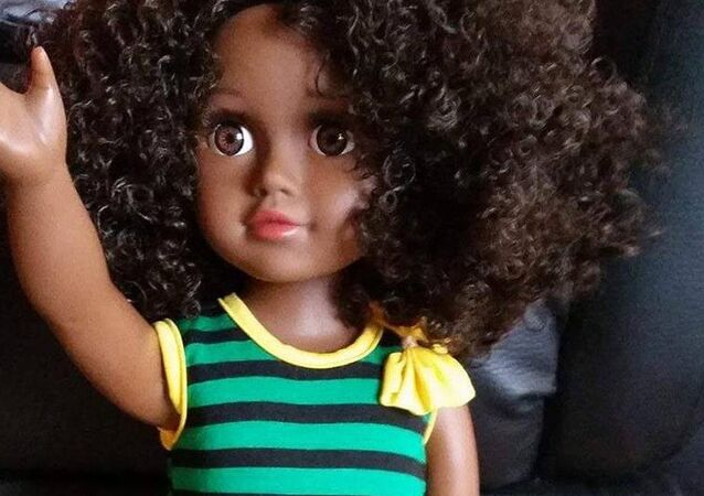 Toya, the Patois speaking black doll from Zuree