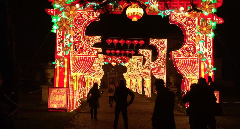 Chinese New Year Magical Lantern Festival in London