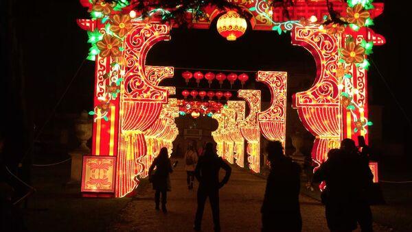 Chinese New Year Magical Lantern Festival in London - Sputnik International