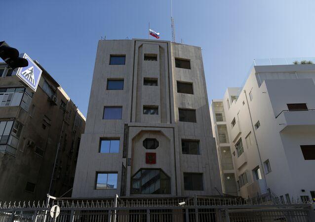 Russian embassy in Tel Aviv, Israel