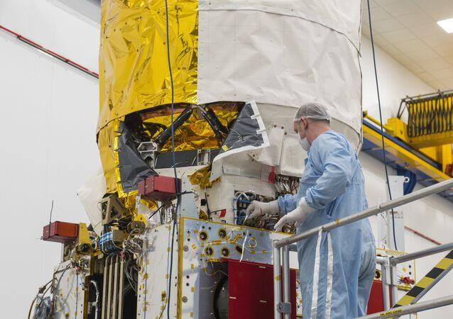 The weather satellite called Aeolus