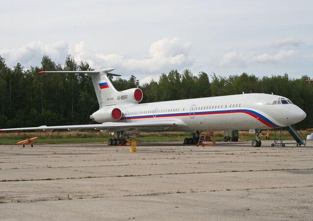 Russian Defense Ministry's Tu-154M