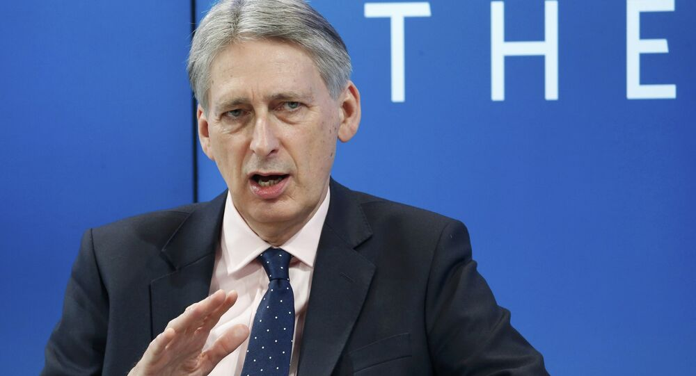 Philip Hammond, Britain's Chancellor of the Exchequer attends the World Economic Forum (WEF) annual meeting in Davos, Switzerland January 20, 2017