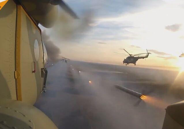 Russian Aviation Drills In Krasnodar Region