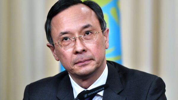 Foreign Minister of Kazakhstan Kairat Abdrakhmanov - Sputnik International