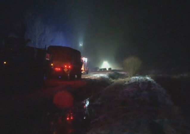 US Army Truck Crashes in Poland