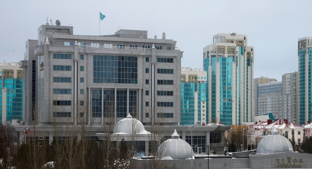 A general view of Rixos President Hotel, the venue that hosts Syria peace talks, in Astana, Kazakhstan, January 23, 2017.
