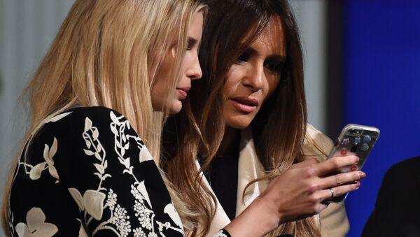 Melania Trump and Ivanka Trump - Sputnik International
