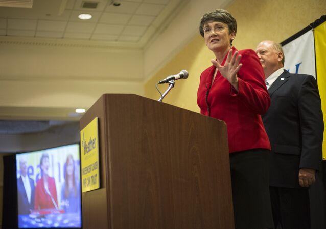 Former Congresswoman Heather Wilson. (File)