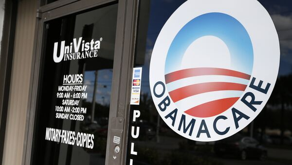 An Obamacare logo. (File) - Sputnik International