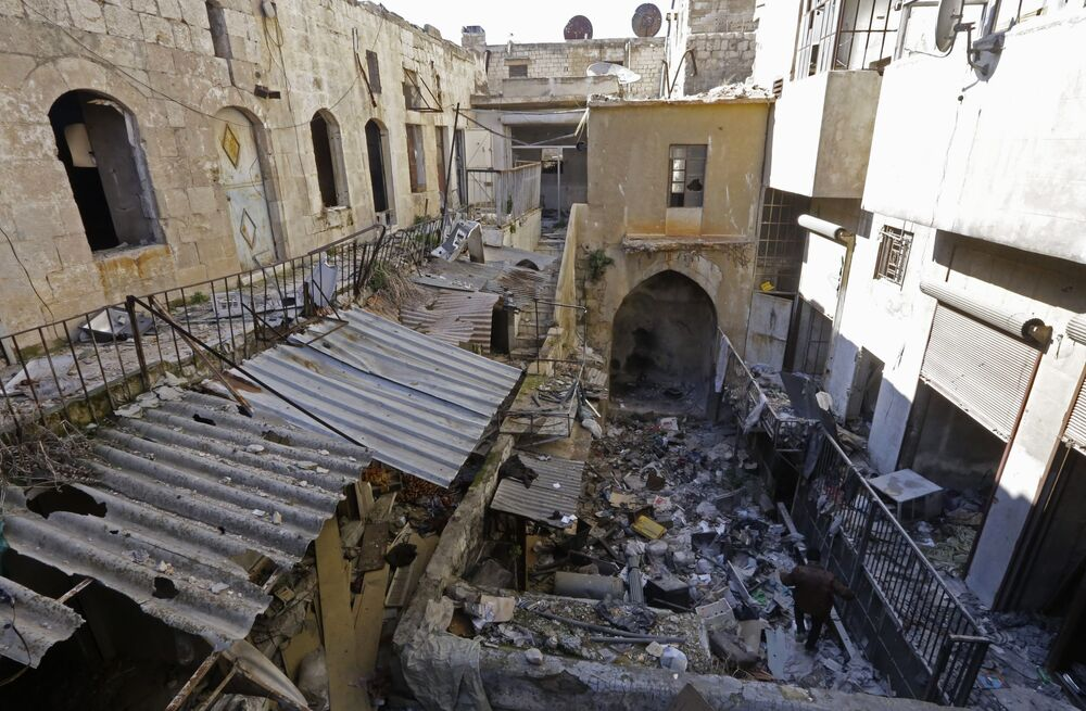 Aleppo in Ruins: Destroyed Monuments of Ravaged City