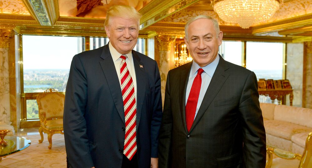 Trump Meets With Israel's Prime Minister Netanyahu at Trump Tower