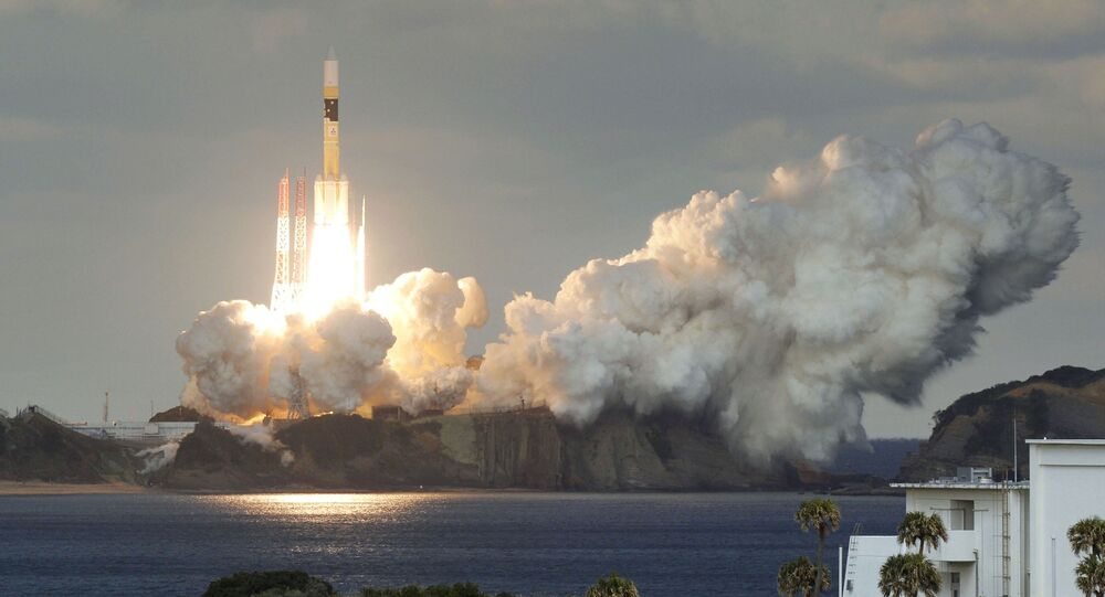 Japan's First Military Communications Satellite