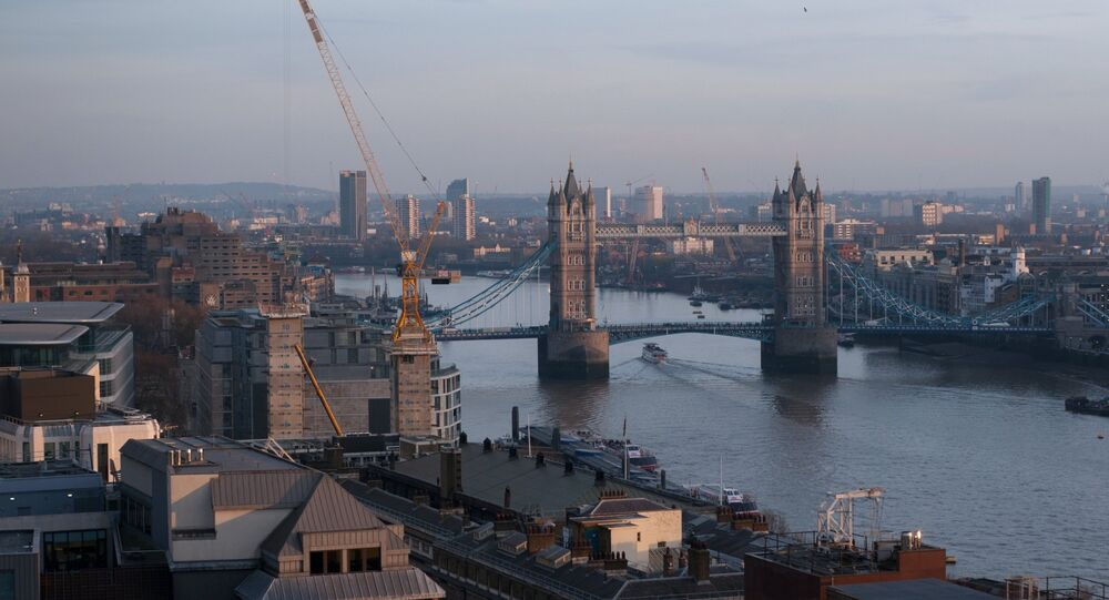 Tower Bridge over the river Thames in London. (File)