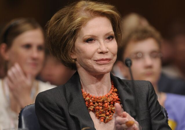 Mary Tyler Moore in 2009.