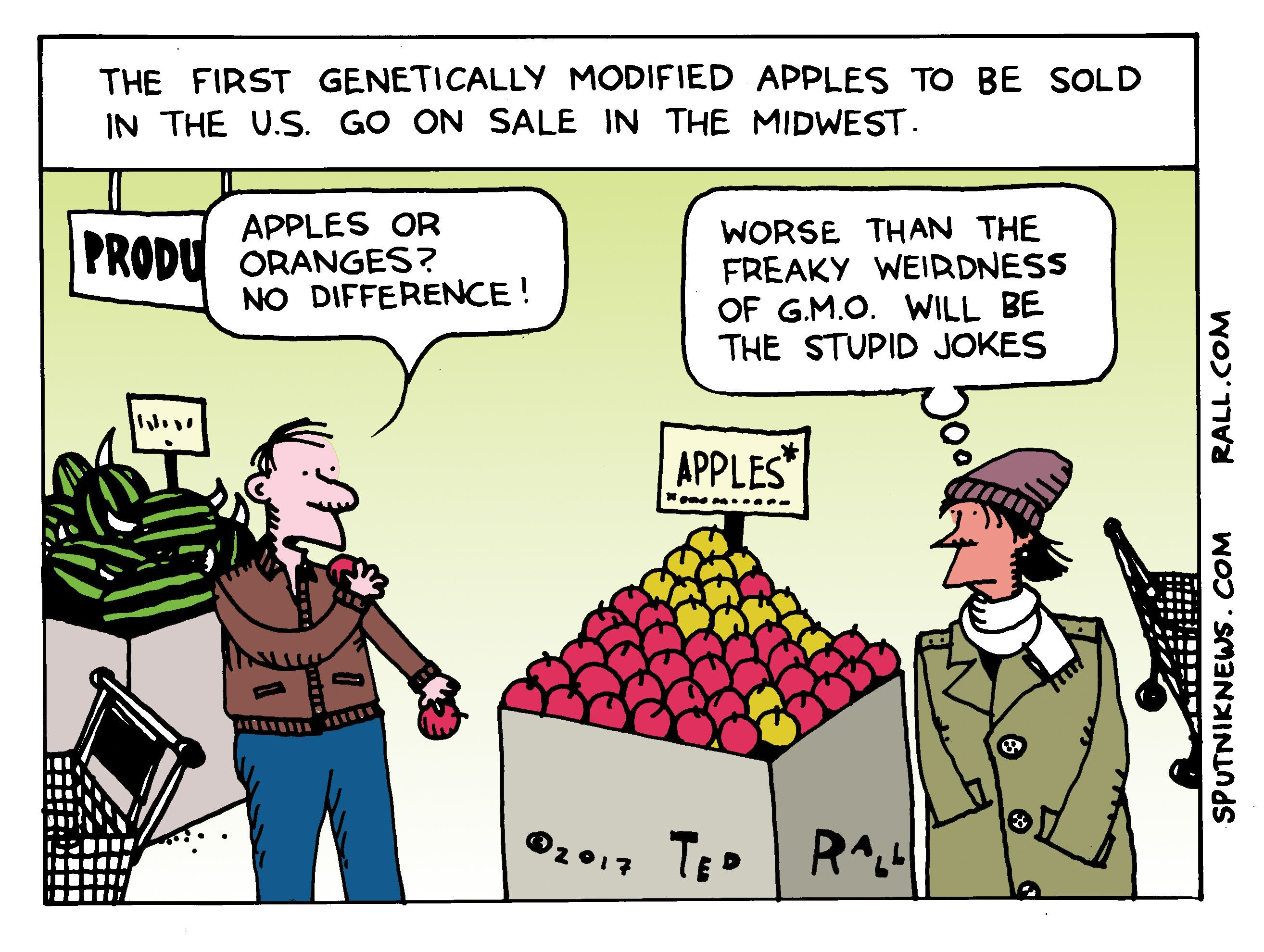 Apples or Genetically Modified Oranges