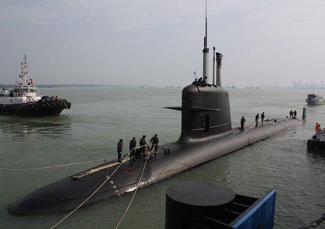 Scorpene-class  submarine (File)