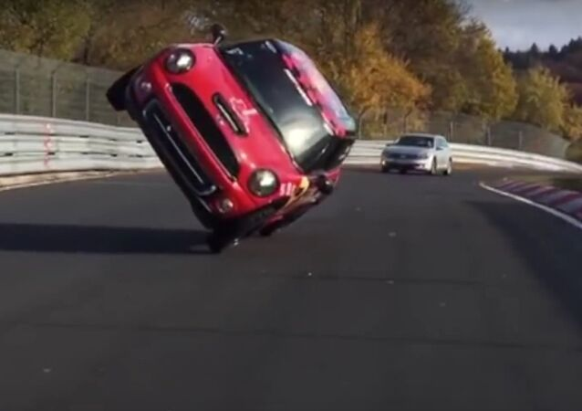 Fastest side wheelie lap of the Nürburgring Nordschleife in a car - Guinness World Records