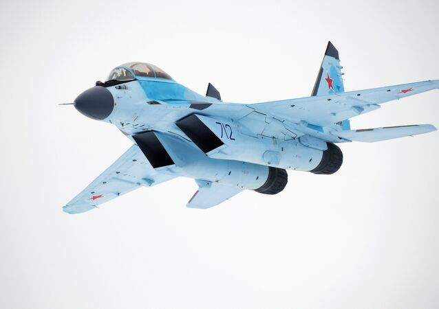 The MiG-35 aviation complex presented in Moscow Region. File photo