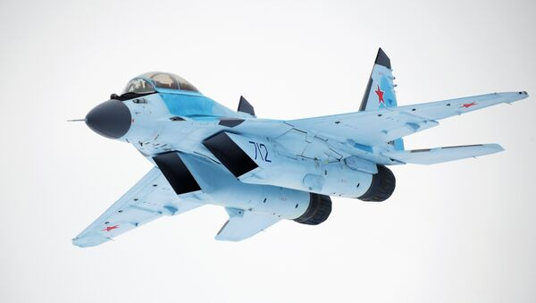 MiG-35 aviation complex presented in Moscow Region - Sputnik International