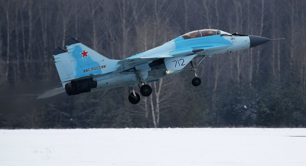 MiG-35 aviation complex presented in Moscow Region