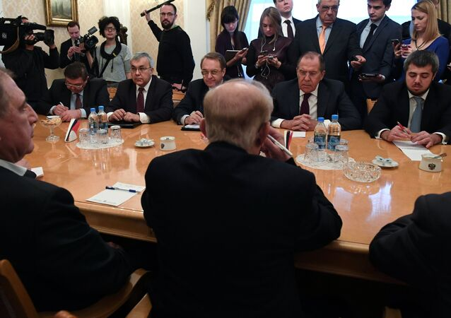 Foreign Minister Sergei Lavrov's meeting with Syrian opposition