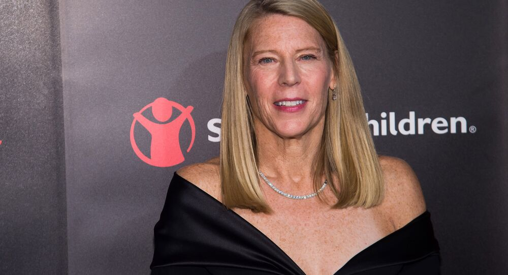 Carolyn Miles attends the 4th Annual Save the Children Illumination Gala at The Plaza Hotel on Tuesday, Oct. 25, 2016, in New York