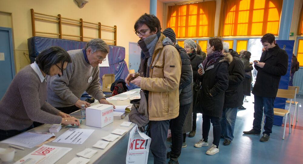 First round of Socialist presidential primary in France