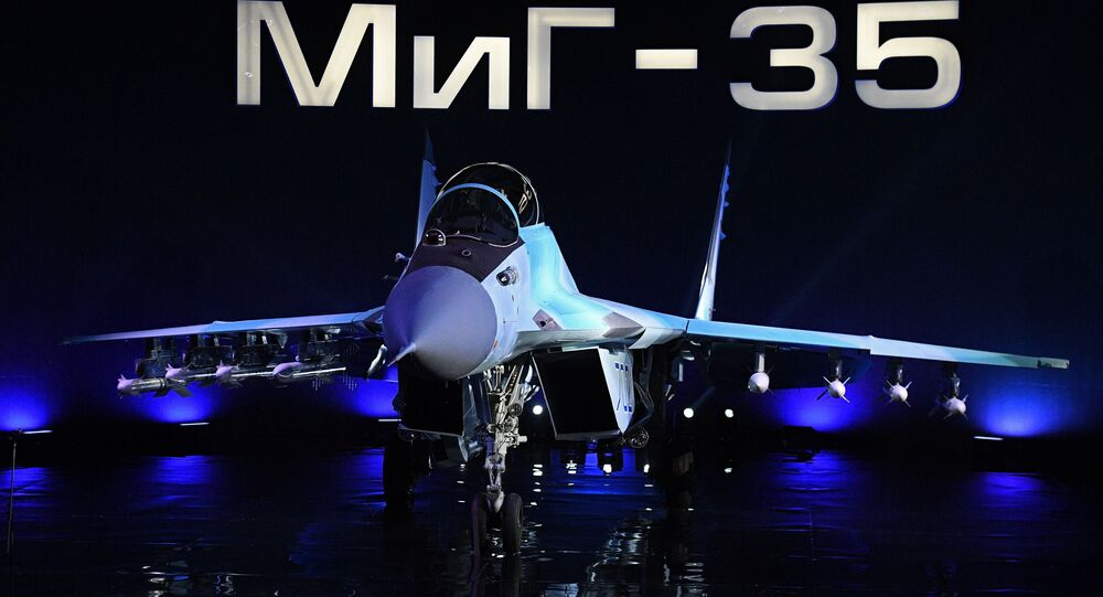 The MiG-35 aviation complex presentation in Moscow Region. File photo