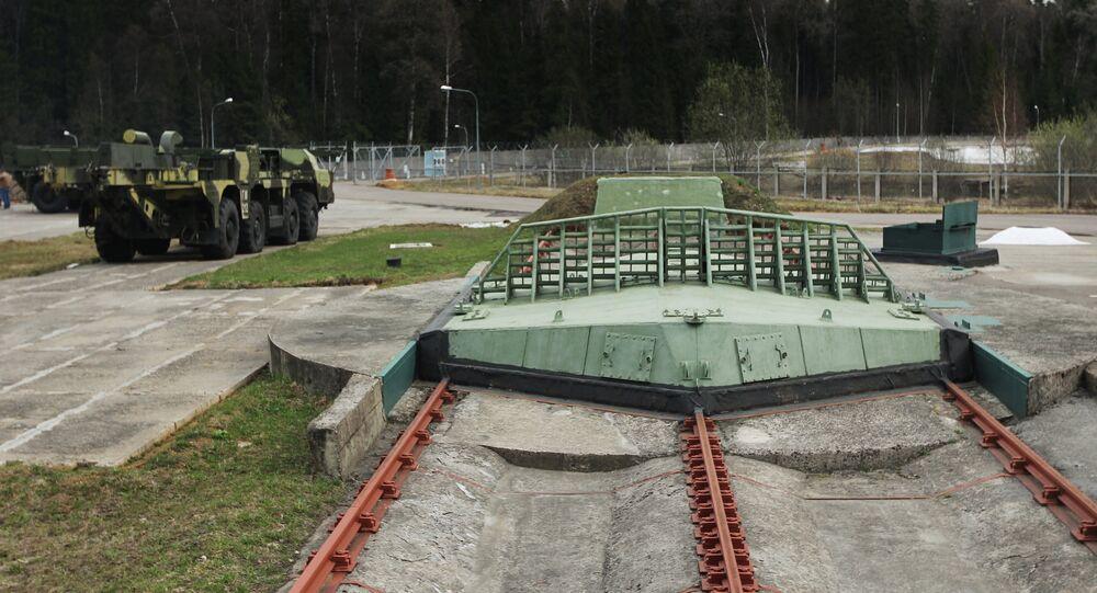 Short-range missile silos at the multifunctional radar station (MRLS) DON-2 H in Sofrino