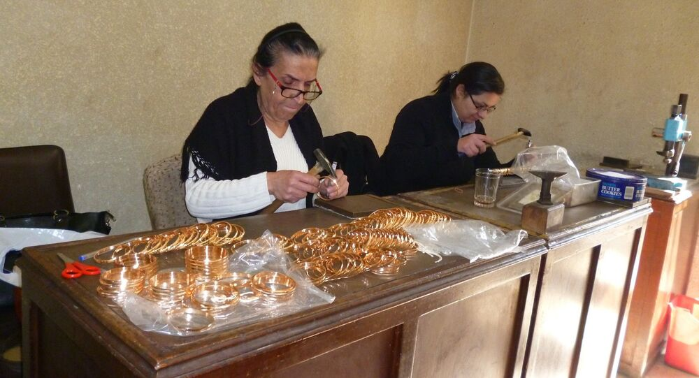 Syrian jewellers. file photo