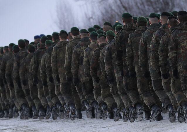 German Bundeswehr soldiers (File)