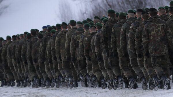 German Bundeswehr soldiers (File) - Sputnik International