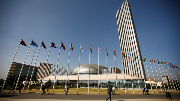A general view shows the headquarters of the African Union (AU) building in Ethiopia's capital Addis Ababa, January 29, 2017 - Sputnik International