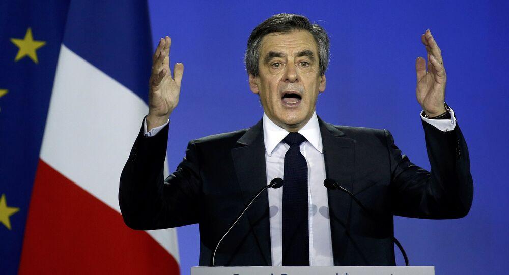 Francois Fillon former French prime minister.