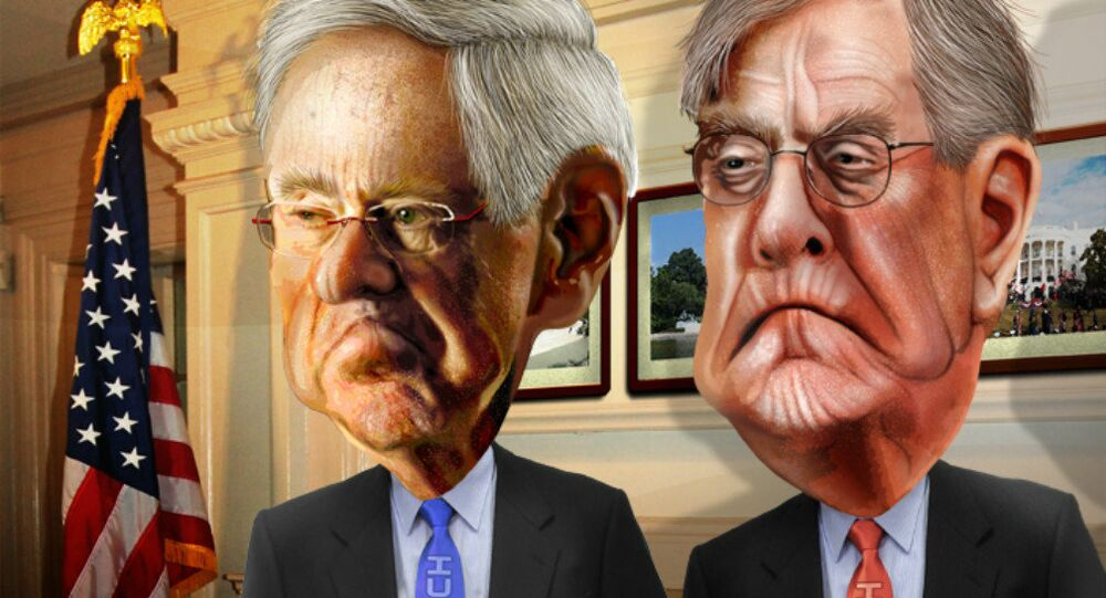 Charles and David Koch - The Koch Brothers