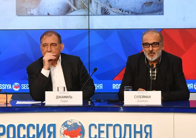 Representatives of Syrian opposition hold news conference