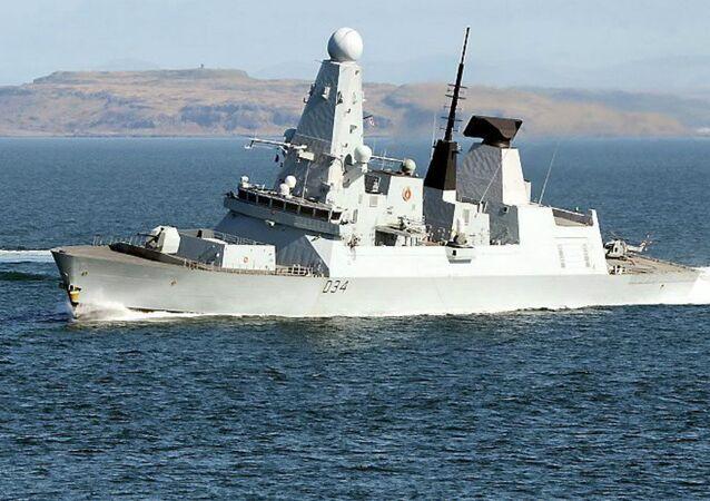 Royal Navy Type 45 destroyer HMS Diamond