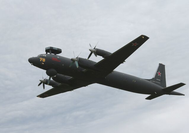 The upgraded Fyodor Zolotukhin Ilyushin Il-38N May / Dolphin maritime patrol and anti-submarine warfare aircraft. (File)