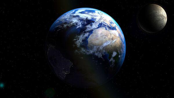 Earth, Moon - Sputnik International