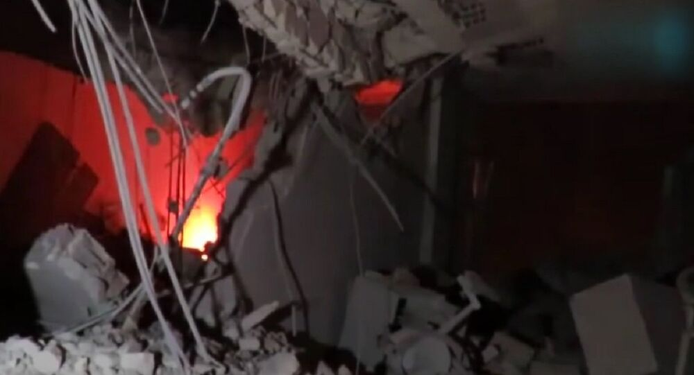 Air strike hits Red Crescent HQ in Idlib