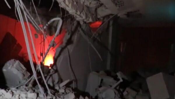 Air strike hits Red Crescent HQ in Idlib - Sputnik International
