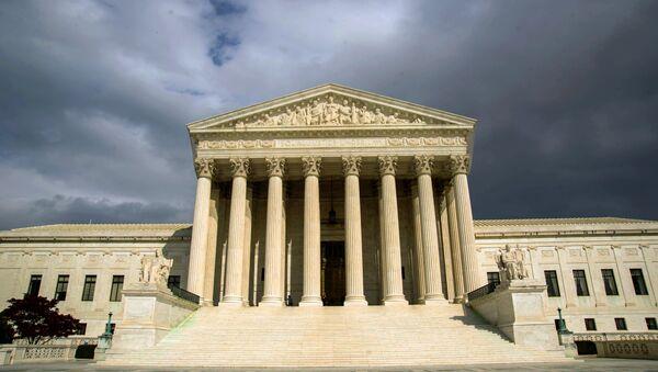 US Supreme Court Building on Capitol Hill in Washington. (File) - Sputnik International